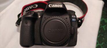 сенсорный фотоаппарат в Азербайджан: Salam.Canon 80D satılır.üzərində əlavə olaraq linza 18-55mm və 50mm