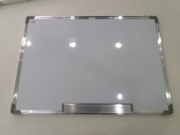 Доски стеклянная магнитно маркерная лаковые - Кыргызстан: Маркерная доскановая 50см на 70см