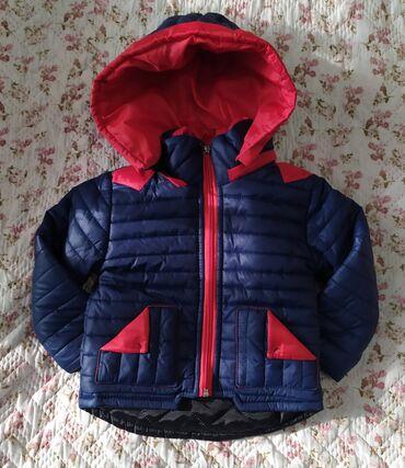 Продам курточку на мальчика (демисезонная). Размер примерно до 1года