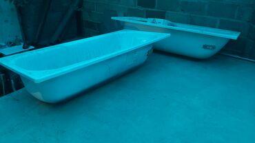 Новые металические ванные с небольшими царапинами. Есть 2шт.  Размер