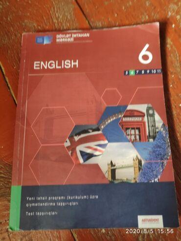English 6 cı sinif Dim TQDK sadece üz qapağı əzikdir içi tər təmiz 3