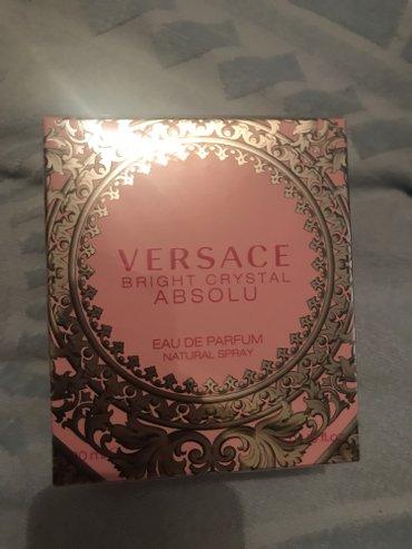 Bakı şəhərində Versace etri Idealdan alinib 207 azn holoqrami ustundedir.Paketi de