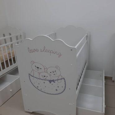 Детская мебель - Состояние: Новый - Бишкек: Детские кроватки манеж Производство Россия Размер 120*60 Цена 6500 сом
