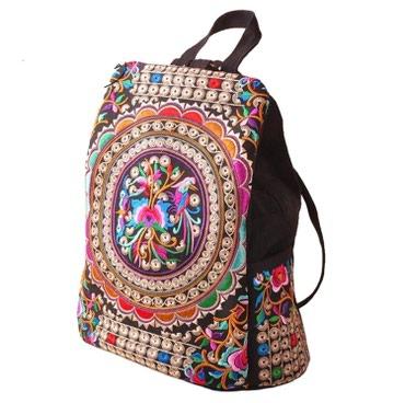 сумка-в-багажник в Кыргызстан: РюкзакСкорее сумка с ушками под рюкзак))Много кармашков, целых 5