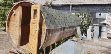 $рочно!!! Продается баня, передвижная, длина 6м. 2×2 в Бишкек