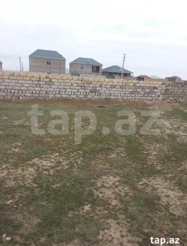 Bakı şəhərində Balaxanida 6 sot torpaq satilir hasara alinib darvazasi var heyete su