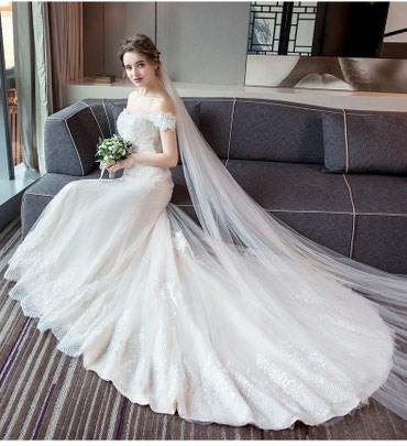 Свадебное Платье в стиле Русалка в Бишкек