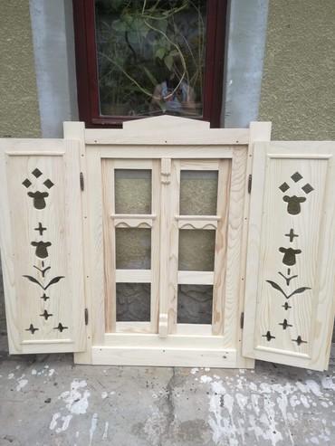 Zidna dekoracija starinski prozori za restorane i lokale. Izrada na