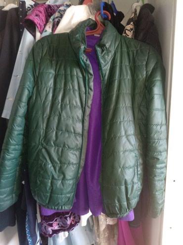 Зелёная куртка, состояние отличное. в Бишкек