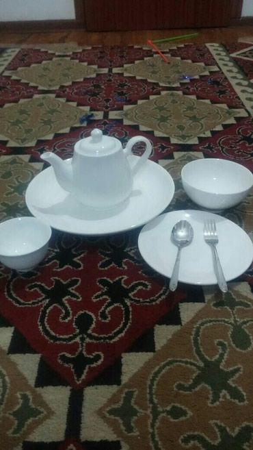 Прокат (аренда) посуды: тарелки, пиалки, чайники, ложки, вилки и тд. в Бишкек