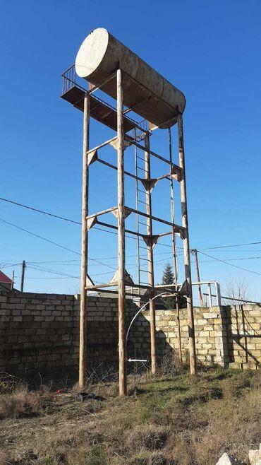 sabuncu - Azərbaycan: Su çən 7 ton tutari 9m hundurluyu   sabuncu rayonu savalan qesebesi