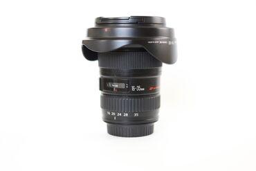 Canon 16-35/2.8 II USM Chox ela veziyyetde, chox az ishlenib. Tam