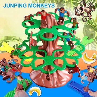 Majmun koji skačeBudite prvi koji će vaše majmune baciti na