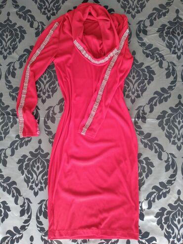 Личные вещи - Манас: Красивое красное платье трикотаж. Осенне-весеннее. Можно и зимой
