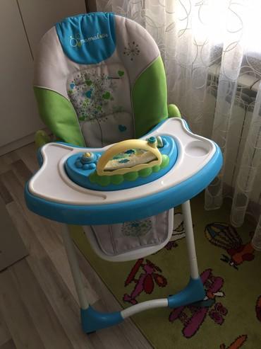 Детский мир в Масазыр: Детский стул.Фирма Mamalove,брали дорого,в отличном состоянии