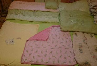 Za bebu, ćebe pamucno, ćebe frotirsko, jorgan, vreća dve ogradice - Belgrade