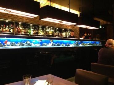 reception - Azərbaycan: Restoranlar üçün bar altı ofislərdə reception masasının alt