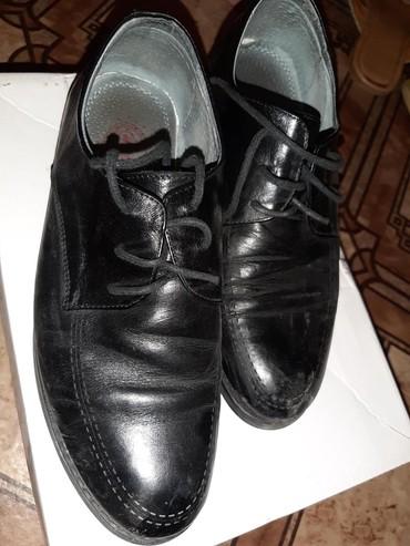 женские туфли кожа в Кыргызстан: Туфли 34 р. (9-10лет). Кожа. Состояние идеальное
