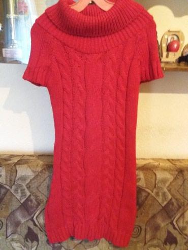 Dzemper haljina jarko crvene boje ne vidi se na slici - Belgrade