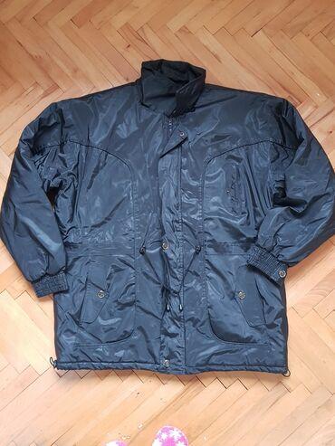 Duzina cm jakna - Srbija: Muska jakna, ocuvana. Velicina pise XXXL Ramena 63 cmPoluobim struka