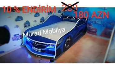 Bakı şəhərində Avtomobil çarpayı