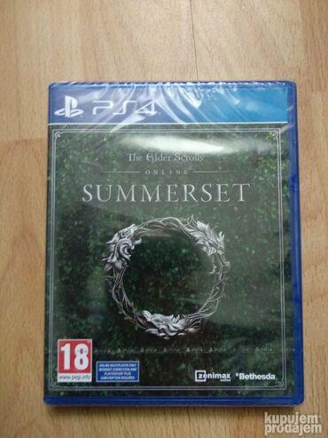 PS4 (Sony Playstation 4) | Srbija: PS4 Elder of Scrolls online SUMMERSET NOVO. Igrica je nova u celofanu