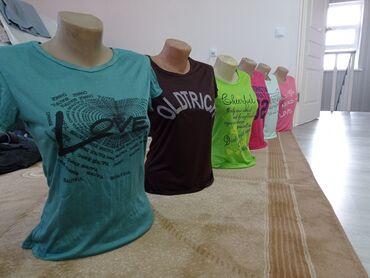 Женская одежда - Кыргызстан: Футболки женские, новыеразмер Х (стандарт) материал синтетика