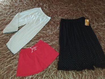 Garderoba - Srbija: Na prodaju mini palet ženske garderobe sa slike (u paketu) .Suknja
