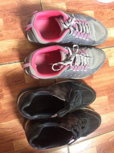 Кроссовки и спортивная обувь - Лебединовка: Сост норм есть немножко мельких недостатков размеры 38-38.5