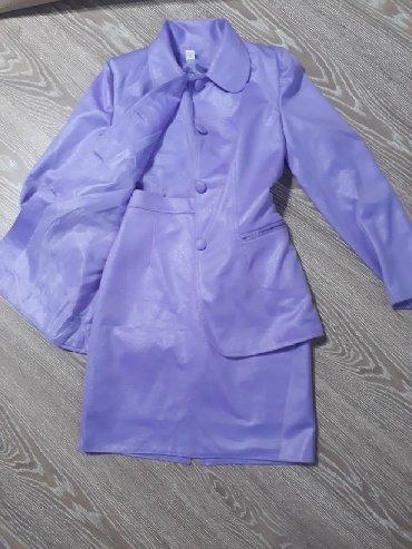 Трикотажную двойку - Кыргызстан: Продаю шикарную двойку. одета пару раз почти новая