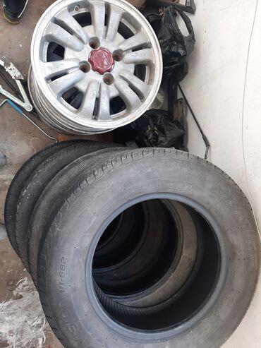 Продаю Диски с шинами R15,шины 205/70 R15 Летние в хорошем состоянии