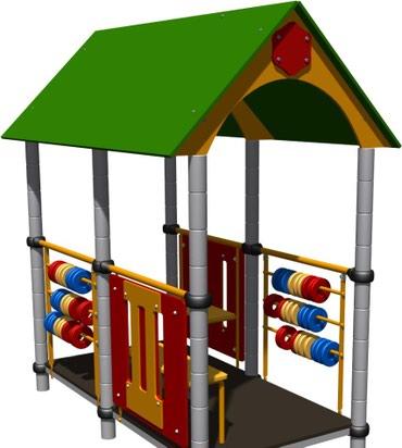Детский игровой домик Размер: 2500*1800*2200 мм в Бишкек