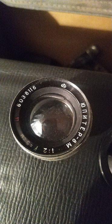 Продам объективы: юпитер 8 м 1:2F=5см; в Бишкек
