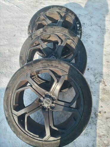 бомбер летний в Кыргызстан: Продаю диски с летней резиной. Размер 275/40/22. Хорошее состояние
