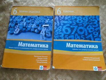 Matematika za 6. razred, udžbenik, izdavač Klett i Zbirka zadataka iz
