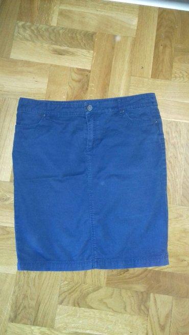 Suknja-duzina - Srbija: Zara suknja sa elastinom,duzina do kolena.Velicina M