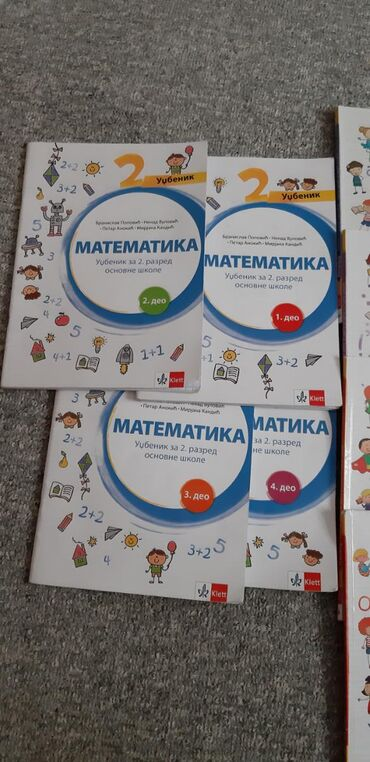 Knjige, časopisi, CD i DVD | Leskovac: Knjige za 2. razred izdavac Klett, engleski jezik izdavac Freska. Knji