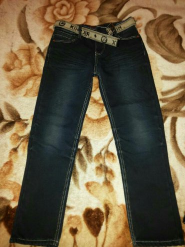 новые джинсы с начесом на 11-13 лет в Бишкек