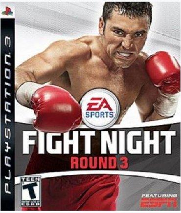 Продаю игру на Sony Playstation 3 Fight Night Round 3