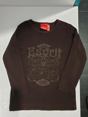 Esprit braon majica 100 % pamuk. Veličina 2-3. Bez ikakvih - Crvenka