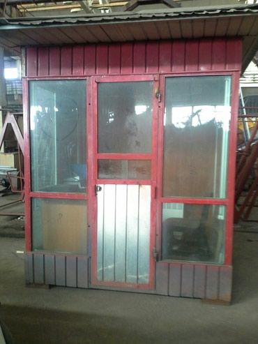 Охранная будка. Размер 2м×1, 5м. Внутри с в Бишкек