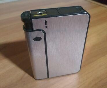зажигалки zippo в Кыргызстан: Продаю портсигар, для сигарет, помещается 10 штук, зажигалка