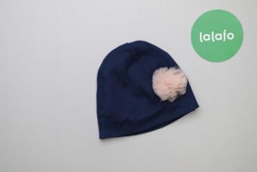 Дитяча шапочка з фатиновою квіткою    Довжина: 16 см Ширина: 19 см  Ст