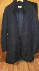 Krzneni kaputi - Palic: Jakna crne boje za hladnije dane,dužanije oštečena očuvana jakn