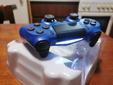 PS4 PLAVI Doubleshock Dzojstik - NOVO  Bežični džojstik za Playstation