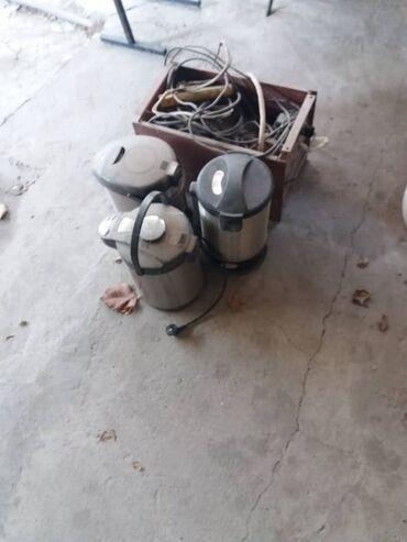 Электрочайники - Кыргызстан: Три самовара