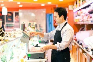 Требуется помощник в продуктовый магазин ,желательно с опытом работы! в Бишкек
