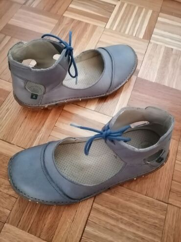 El Naturalista sandale br.40Kožne sive sandale, duzina gazišta 26,3
