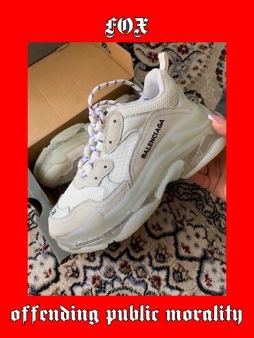 BALENCIAGA Triple S clear sole sneakers 🤍 К сожалению обмена НЕТ