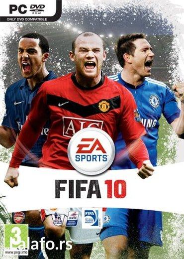 FIFA 2010 igra za pc (racunar i lap-top)   ukoliko zelite da - Boljevac